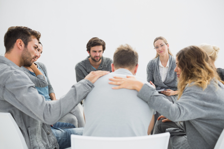 group therapist
